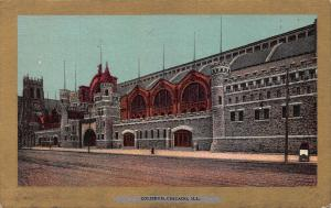 Coliseum, Chicago, Illinois, Very Early Postcard, Unused