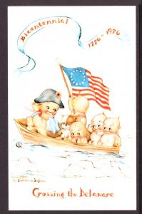 Crossing the Delaware,US Bicentennial,Rosie O'Neil Adapted Florence Baker