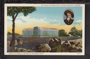 Grave of Buffalo Bill,Lookout Mountain,CO Postcard