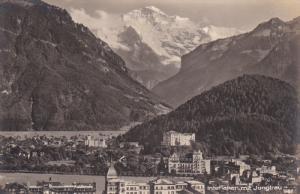 RP, Interlaken Mit Jungfrau, INTERLAKEN (Berne), Switzerland, 1920-1940s
