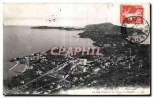 Old Postcard Panorama Cap Ferrat Beaulieu and Pointe St Hospice