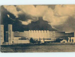 1933 electrical group AT WORLD FAIR Chicago Illinois IL ho3089