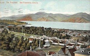 THE PRESIDIO San Francisco, CA Presideo 1909 Vintage Postcard