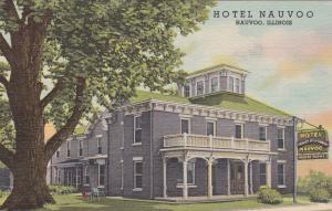 NAUVOO , Illinois ,1930-40s ; Hotel Nauvoo (Exterior)