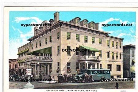Jefferson Hotel Watkins Glen Ny
