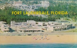 Florida Fort Lauderdale Aerial View Junction Of North Atlantic Boulevard &...