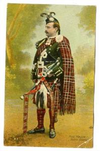 Pipe Major, Scots Guards, Scotland, UK, PU-1908