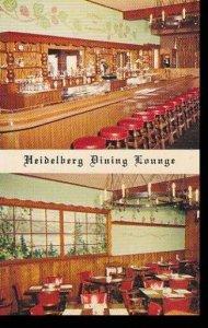 Minnesota Minneapolis Heidelberg German American Restaurant Dining Lounge
