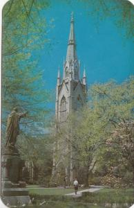 The Sacred Heart Church, University of Notre Dame, unused Postcard