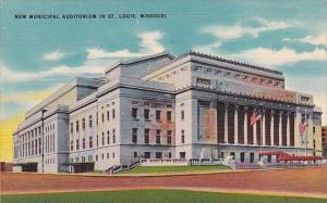 New Municipal Auditorium In Saint Louis Missouri