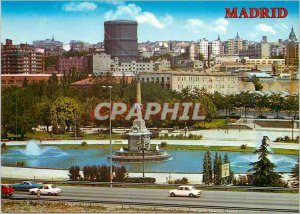 Postcard Modern Madrid Arganzuela Park