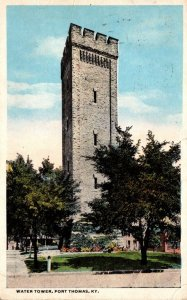 Kentucky Fort Thomas Water Tower 1915 Curteich