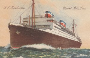 Place your mouse over the image to zoom United States Line Ocean Liner S.S. MA