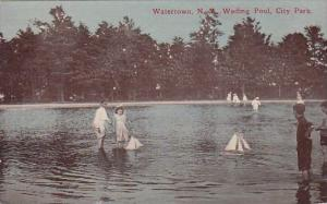 Wading Pool City Park Watertown New York