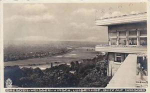 RP: DRESDEN-Weisser-Hirsch, Luisenhof, Germany , PU-1932