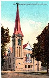 2167 - Central M. E. Church, Stockton, California