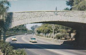 Bridge Carrying The Roadway To Mt. Rubidoux, Riverside, California, PU-1957