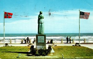 Virginia Virginia Beach Norwegian Lady Statue