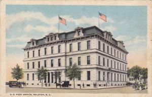 U. S. Post Office, Raleigh, North Carolina, 10-20s