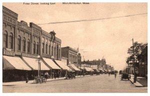 Minnesota Moorhead Front street looking East