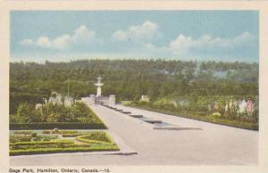 Gage Park, Hamilton, Ontario, Canada, 1910-1920s
