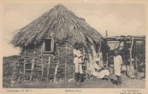 CURACAO , D.W.I. , 00-10s ; Native Hut