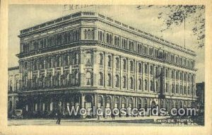 Empire Hotel Winnipeg, Manitoba Canada 1929
