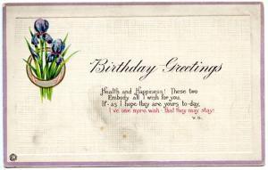 Greetings - Birthday