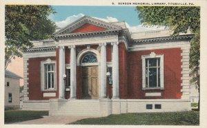 TITUSVILLE , Pennsylvania, 10-20s ; Benson Memorial Library