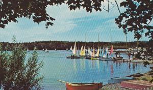 Pram Racing at Baddeck,  Cape Breton,  Nova Scotia,  Canada,   40-60s