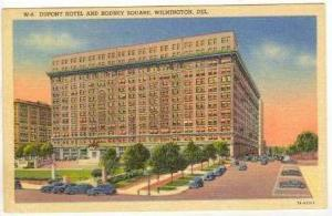 Dupont Hotel,Rodney Squre,Wilmington,Delaware,30-40s
