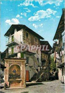 Postcard Modern Baveno (Lake Maggiore) The Casa Vecchia Morandi Monumento Naz...