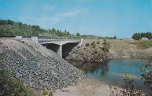 Sable River Bridge , Trans-Canada Highway , MASSEY , Ontario , Canada , 50-60s