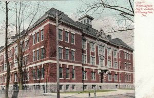 WILMINGTON , DELAWARE , 1901-07 ; High School