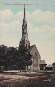 Pennsylvania Bloomsburg First Presbyterian Church 1912