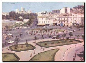 Postcard Modern Colors and lights of Algeria Annaba Roundabout Ancene Ennouri