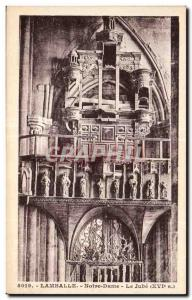 Postcard Old Lamballe Notre Dame The Jube