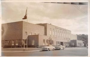 Pendleton Ohio Umatilla Court House Real Photo Antique Postcard K35089
