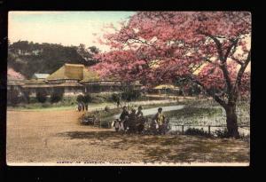 028216 JAPAN YOKOHAMA Garden of Sankei-en Vintage PC