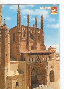 Postal 045514 : Huesca. Fachada principal de la Catedral