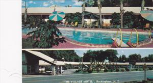 Swimming Pool, Village Motel, Rockingham, North Carolina, 40-60´s