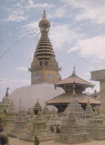 Postal 61537 : Swyoyambhu the biggest Stupa in the World Nepal