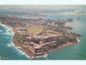 Pre-1980 AERIAL VIEW OF TOWN San Juan Puerto Rico PR n3214