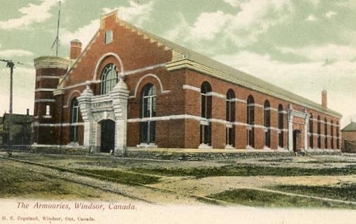 Canada - Ontario, Windsor. The Armouries
