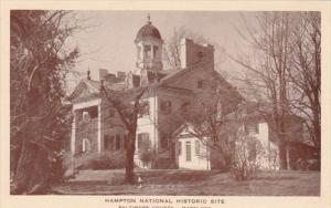 Maryland Baltimore County Hampton National Historic Site