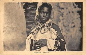 German East Africa Tanzania Tanga Ostafrikan Schoenheit Native Lady Woman