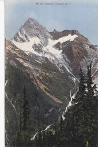 GLACIER, British Columbia, Canada, 1900-1910´s; Mt. Sir Donald