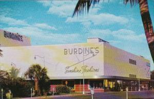 Florida Miami Beach Burdine's Department Store
