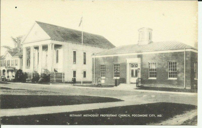 Pocomoke City, MD, Bethany Methodist Protestant Church