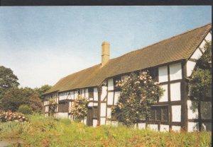 Herefordshire Postcard - Medieval Cottages at Eardisland  WC144